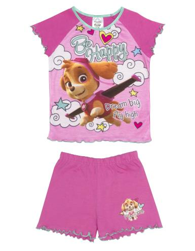 Girls Paw Patrol Shortie Pyjamas (74789)