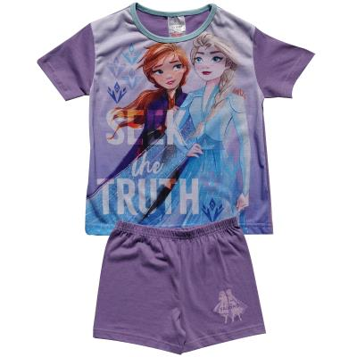 Girls Frozen Shortie Pyjamas (76819)