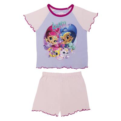 Girls Shimmer & Shine Shortie Pyjamas (70650)