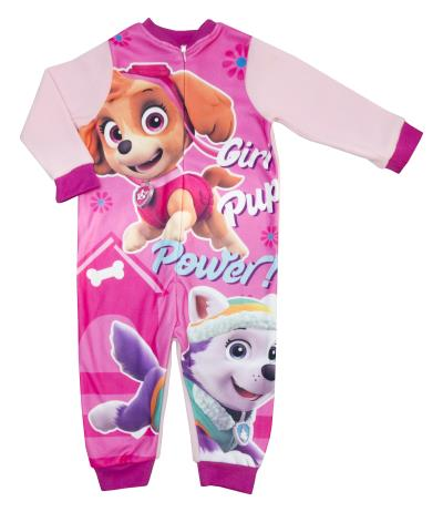 Girls Paw Patrol Skye Fleece Onesie (72115)