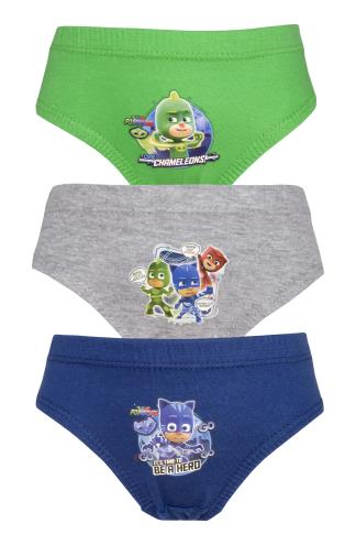 Boys PJ Masks 3 Pack Pants / Briefs (72367)