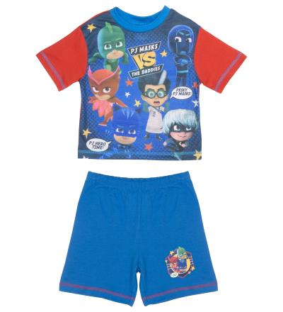 Boys PJ Masks Pyjamas Shortie Pyjamas (74715)