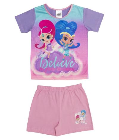 Girls Shimmer & Shine Shortie Pyjamas (74719)