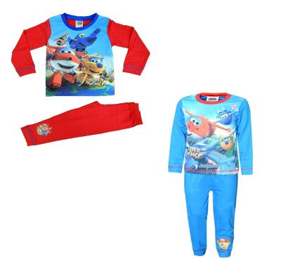 Boys 2 Pack Super Wings Pyjamas (76115)