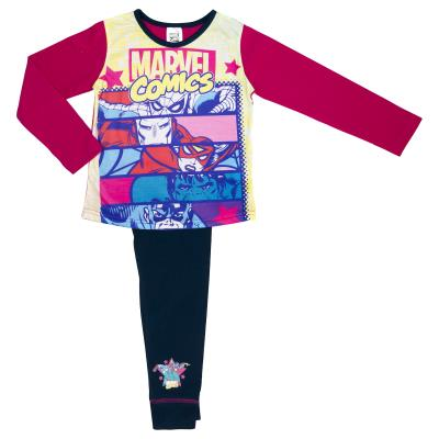 Girls Marvel Comics Pyjamas (67638)