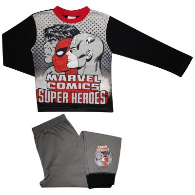 Boys Marvel Comics Superheroes Pyjamas (76881)