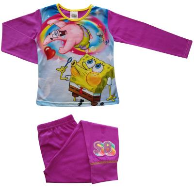 Girls Sponge Bob Squarepants Pyjamas (76816)