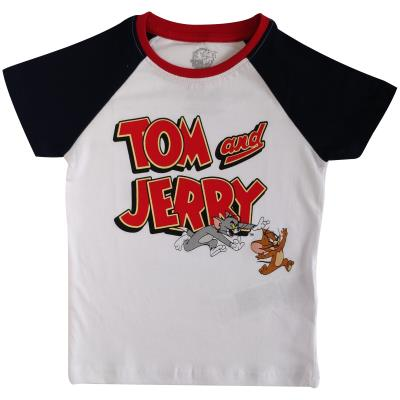 Boys Tom and Jerry T Shirt - Tom and Jerry Design (76999)