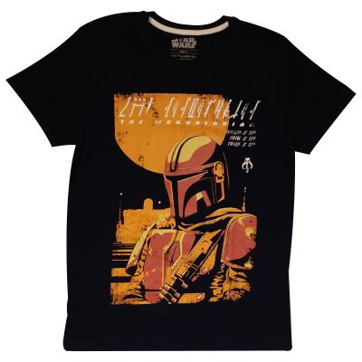 The Mandalorian - Bounty Hunter - Men's T-Shirt (76938)