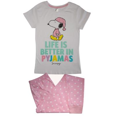 Ladies Snoopy Life is Better In Pyjamas (76926)