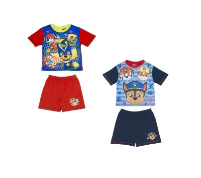 Boys 2 Pack Paw Patrol Shortie Pyjamas (74721)