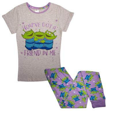 Ladies Toy Story Aliens Pyjamas (76870)