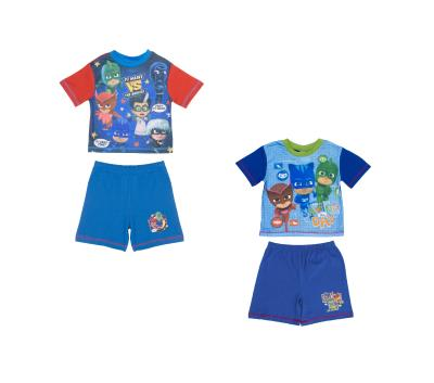 Boys 2 Pack PJ Masks Shortie Pyjamas (74716)