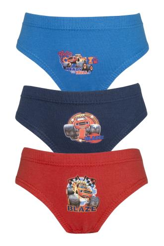Boys Blaze and the Monster Machines 3 Pack Pants / Briefs (72365)