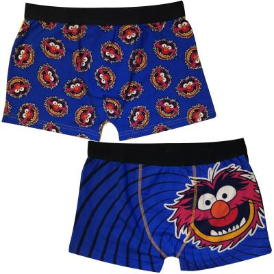 Mens 2 Pack Animal Boxers (76929)