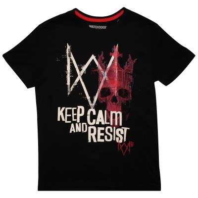 Watch Dogs: Legion - Keep Calm And Resist - Men's T-Shirt (76945)