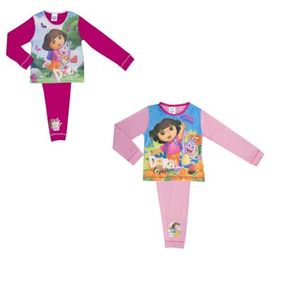 Girls 2 Pack Dora the Explorer Pyjamas (71206)