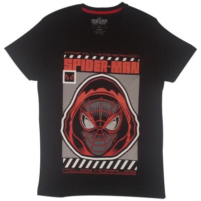 Spider-Man - Miles Morales Hood - Men's T-Shirt (76940)