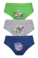 Boys PJ Masks 3 Pack Pants / Briefs