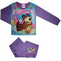 Girls Masha and the Bear 'Best Friends' Pyjamas