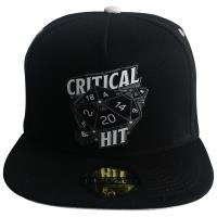 Dungeons and Dragons Cap - Men's Snapback - Critical HIT Design