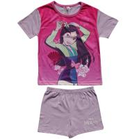 Girls Mulan Shortie Pyjamas