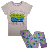 Ladies Toy Story Aliens Pyjamas
