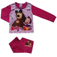 Girls Masha and the Bear Pyjamas
