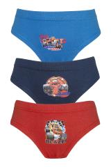 Boys Blaze and the Monster Machines 3 Pack Pants / Briefs
