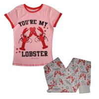Ladies Friends Pyjamas 'You're My Lobster'